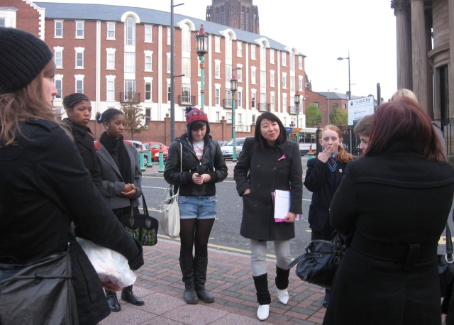 Intercultural Dialogyue EU Commissions course  CHinatown